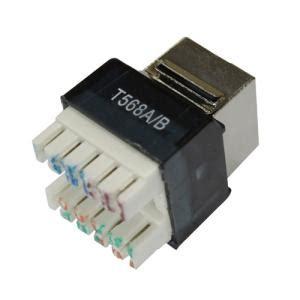 ftp cate ta tb wiring rj black modular jacks
