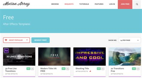 How To Use Adobe After Effects Templates by Find After Effects Intro Templates Using These 10