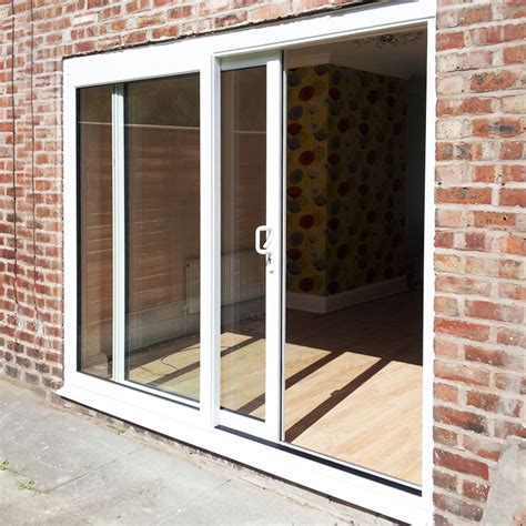6ft upvc sliding patio doors flying doors