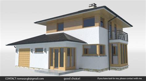 Bambo House Free 3d Model