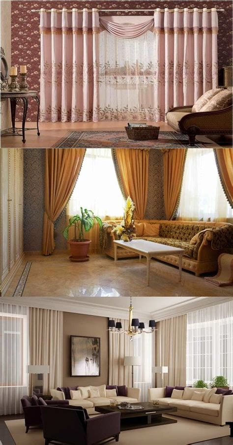 living room drapes  curtains interior design