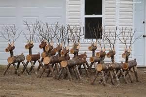 log reindeer woodchuckcanuck