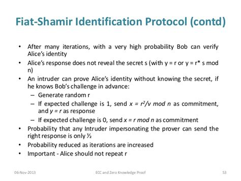 Fiat Shamir by Elliptic Curve Cryptography And Zero Knowledge Proof