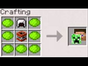 My Minecraft Crafting Ideas - YouTube