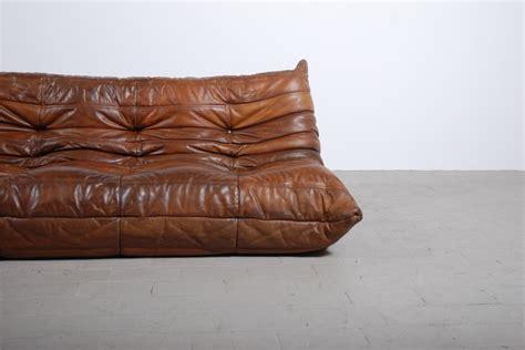 canapé vintage occasion togo cuir ligne roset jasper