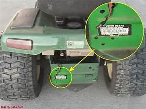 John Deere 325 Mower