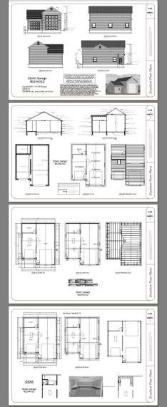 32x40 1-RV 1-Car Garage -- #32X40G2 -- 1197 sq ft