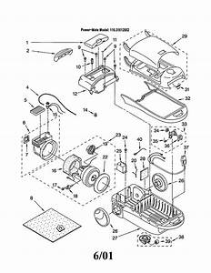 116 21612002 Kenmore Canister Vacuum Cleaner Manual