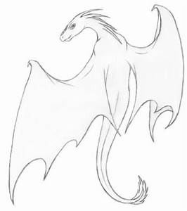 drawings of dragons in pencil | dragons drawings black and ...