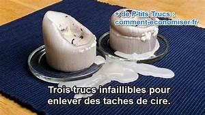 Enlever De La Bougie Sur Une Nappe : tache de bougie sur table en bois ~ Nature-et-papiers.com Idées de Décoration