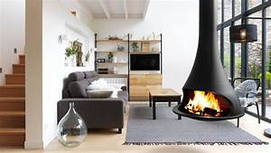 Poele Suspendu Design : installer ou non un po le bois suspendu la maison ~ Melissatoandfro.com Idées de Décoration
