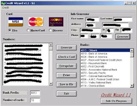 working perfect money adder softwares credit card