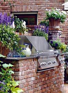 How, To, Make, Yourself, Backyard, Brick, Grill