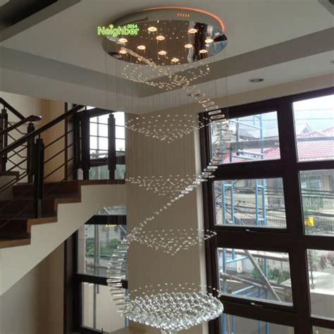 luces de techo cristalina moderna sala de estar doble