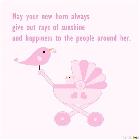 born  give  rays  sunshine txtsms