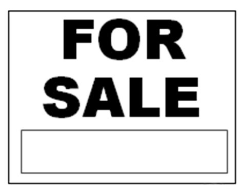 sale signs printable printable for sale signs
