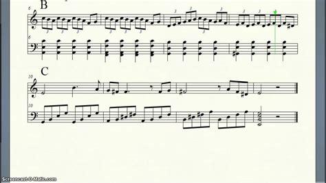 ternary musical form a b c youtube