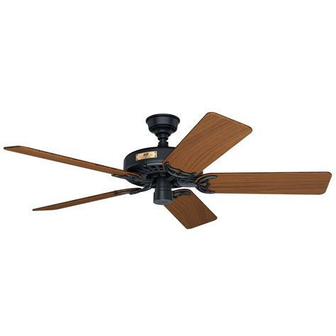 outdoor ceiling fan blades black outdoor ceiling fan with teak wood blades 23863