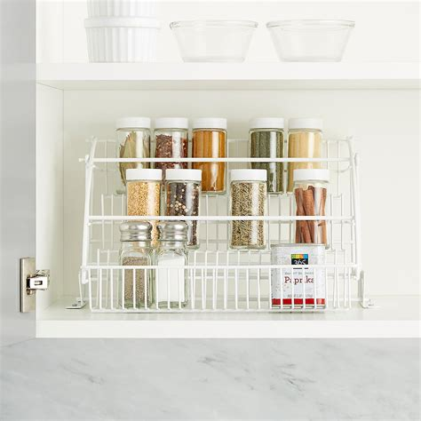 Container Store Spice Racks by Pull Out Spice Rack Rubbermaid Pull Spice Rack
