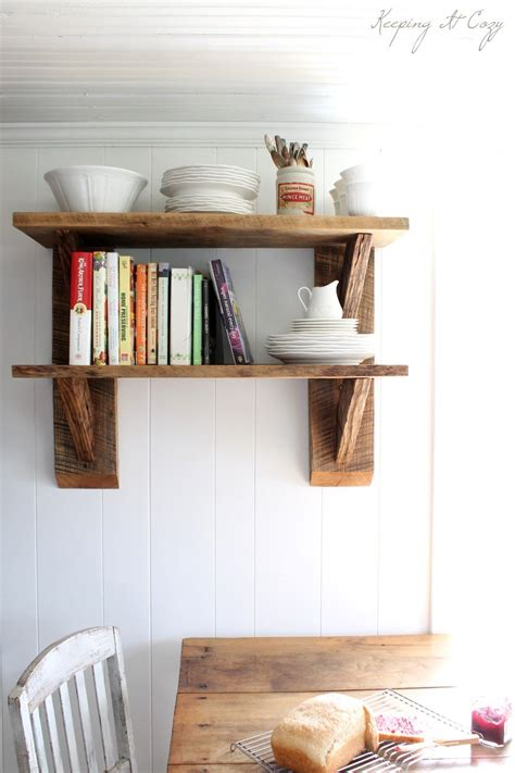 ways   diy shelves  part   homes decor