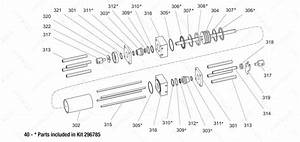 Gusmer H 35 Hydraulic Cylinder Exploded Diagram