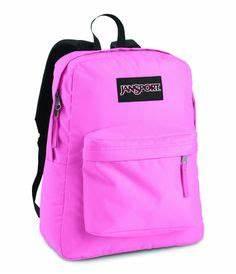 Jansport Black Label Superbreak Backpack Pink Pansy