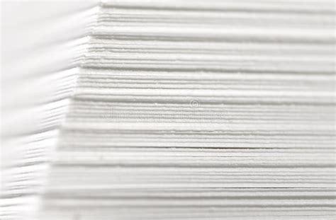 paper stack closeup stock photo image  high macro