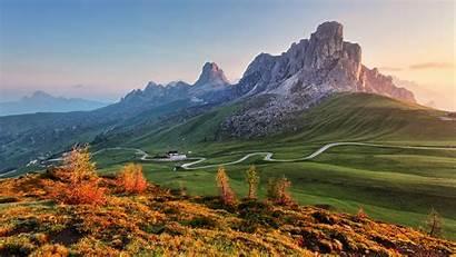 Italy Giau Pass Spotlight Landscape Dolomites Windows