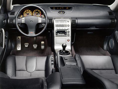 infiniti  sport coupe cockpit picture