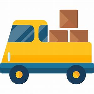 Delivery Truck Icon - Page 4