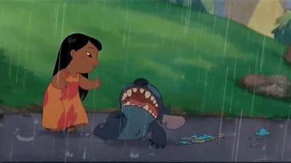 Stitch Lilo Sad Gifs Funny Games Disney