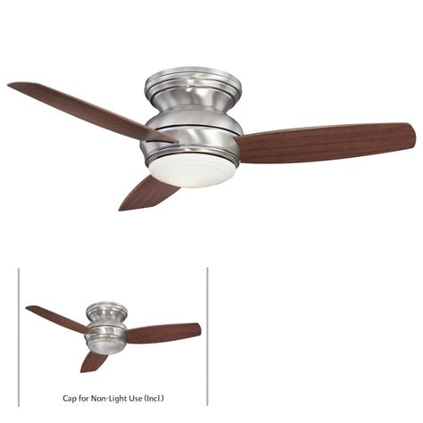 44 inch flush mount ceiling fans minkaaire f593 pw pewter 3 blade 44 quot flush mount indoor