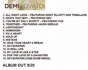 demi lovato unbroken track list image search results