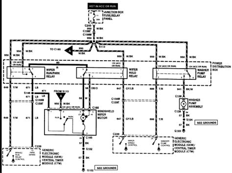 2005 Mustang Wiper Motor Wiring Diagram by I Was On Line With Yesterday About The Wiring Diagram