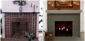 Peindre Des Briques De Cheminée : les 25 meilleures id es de la cat gorie chemin e en brique relooking sur pinterest mise jour ~ Farleysfitness.com Idées de Décoration