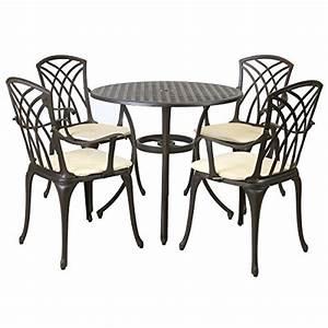 metall kissen polster und weitere wohntextilien With französischer balkon mit tisch und stühle für garten