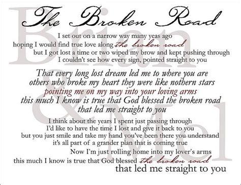 Broken Lyrics