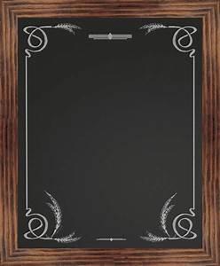 Border Chalkboard, Wheat - Rustic - Bulletin Boards And