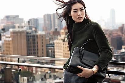 Liu Wen Coach Borough Bag Campaign Fall