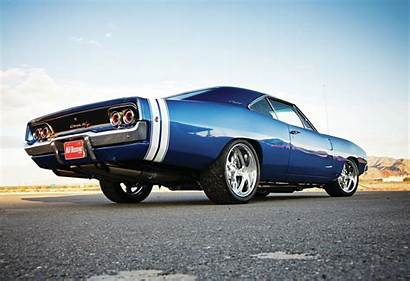Charger Dodge 1968 Rt Rod Muscle Wallpapers