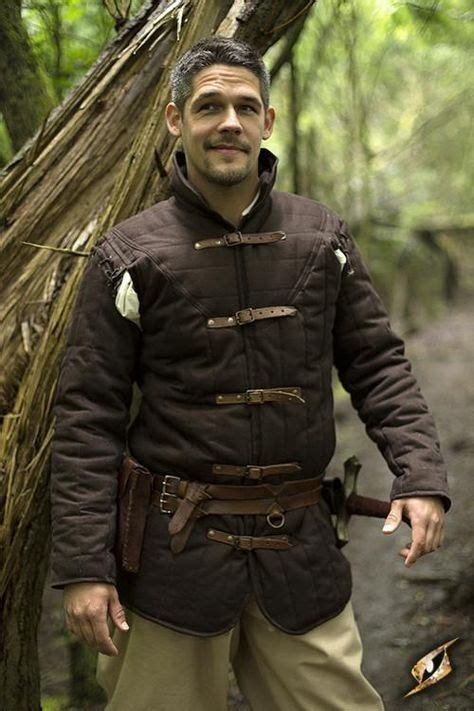 warrior gambeson medieval clothing armor clothing larp