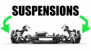 How Car Suspensions Work - Springs Vs Shocks