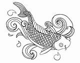 Fish Coloring Educative Printable Forget Supplies Don sketch template