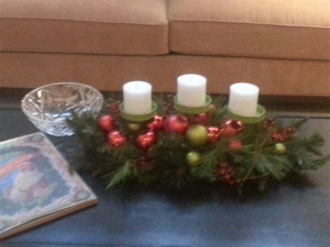 coffee table christmas centerpiece decor ideas pinterest