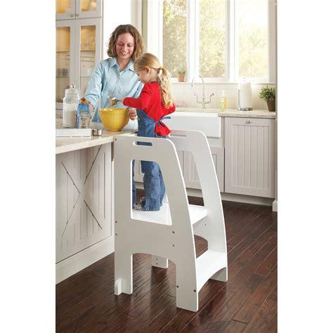 guidecraft household helper  step manufactured wood step