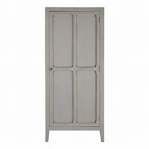 Maison Du Monde Armoire : armoire en manguier gris l 75 cm pensionnat maisons du monde ~ Melissatoandfro.com Idées de Décoration