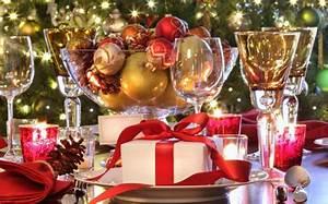 Table De Fete Decoration Noel : des id es int ressantes pour une d coration table de no l ~ Zukunftsfamilie.com Idées de Décoration