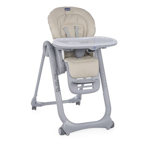 chaise haute b b chicco chicco highchair polly magic relax 2018 beige buy at