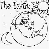 Coloring Solar Planet Pages System Printable Print Earth Drawing Space Moon Learning Childrens Stars Paint sketch template