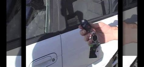 unlock car door with phone how to unlock a car door using a cell phone and a faraway